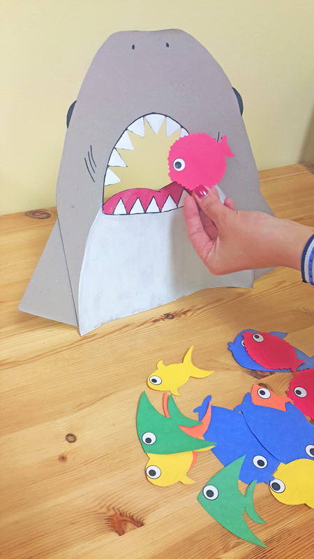 Feed The Shark – Preschool Color Identification Game