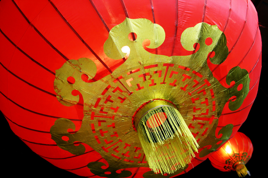 Why Red and Gold on Chinese New Year?