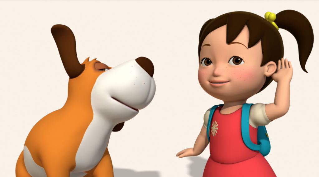 Kids Learn Mandarin Chinese with Miaomiao the early learning language app television show for children and preschoolers