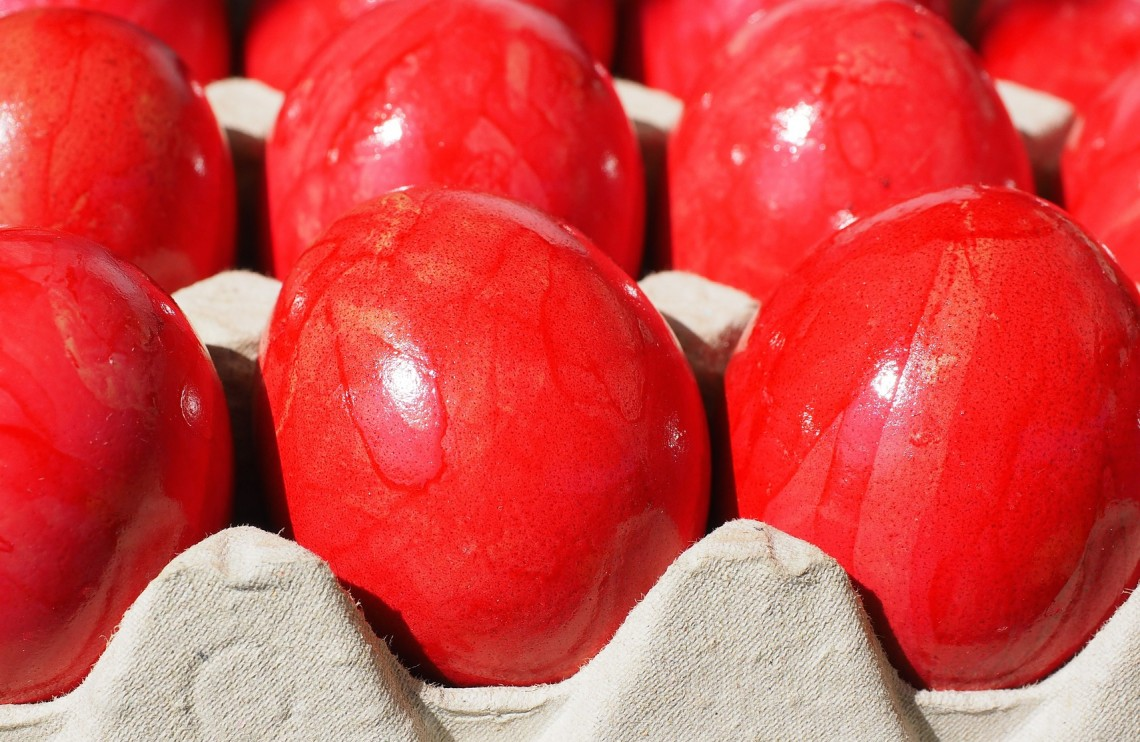 Celebrations & Traditions: Red Eggs